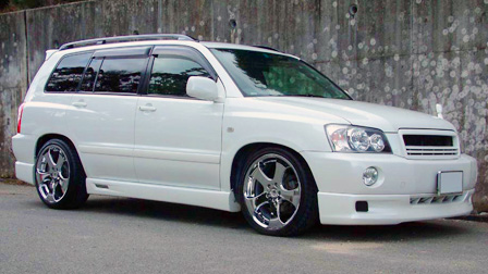 Toyota Highlander 4WD 2001-2007