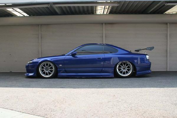 Nissan Silvia (S15) 1999-2002 Down