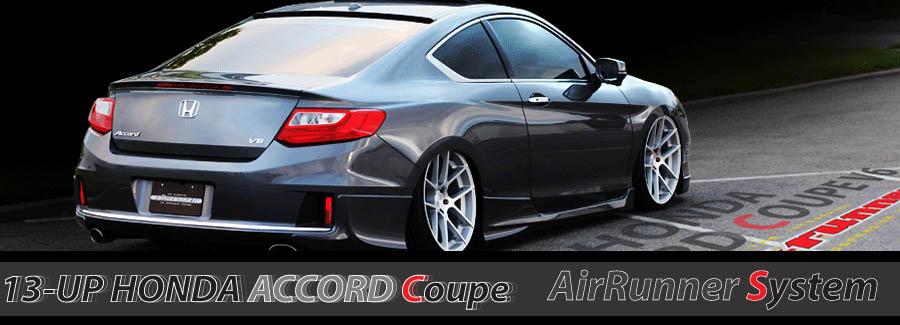 13-UP Honda Accord Coupe Air Runner Debut!! | Air Runner ...
