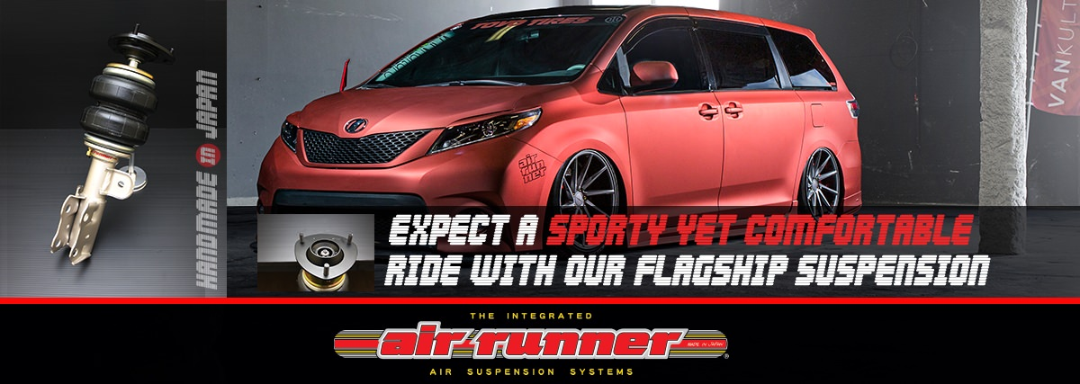 AIRRUNNER page top banner