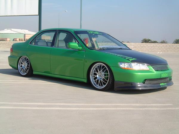 2007 Honda Accord >> Honda Air Suspension | Air Runner Systems