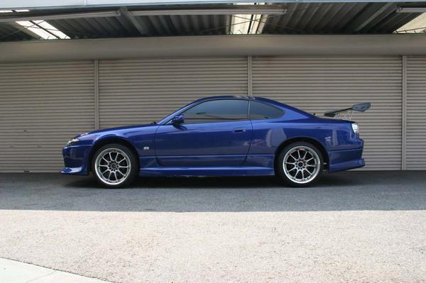Nissan Silvia (S15) 1999-2002 Up