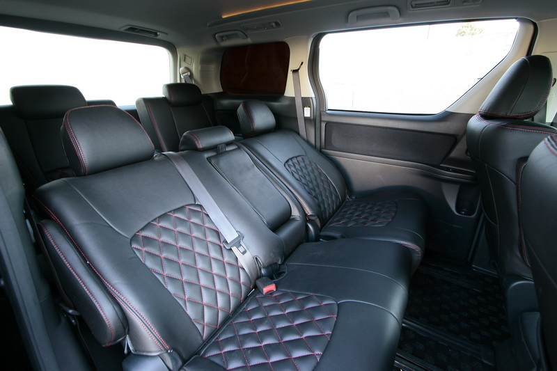 Toyota Vellfire | Air Runner Systems