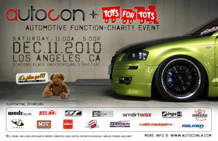 Toys For Tots Charity Event : Autocon toys for tots dec air runner systems