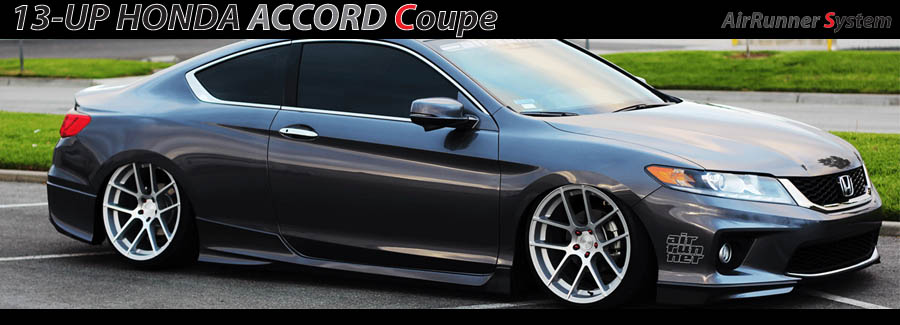 13-UP Honda Accord Coupe Air Runner Debut!! | Air Runner Systems